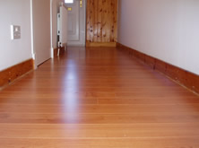 Supply and fit of Cherry Laminate Flooring